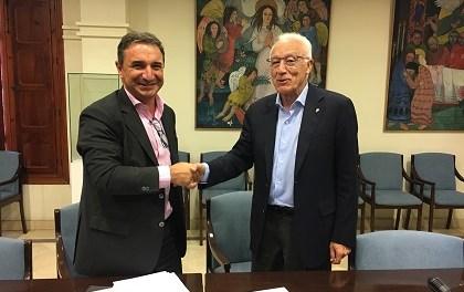 El Patronato del Misteri d'Elx y Cajamar Elche firman convenio de colaboración