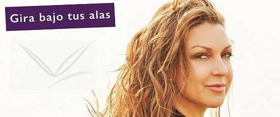 Niña Pastori actua aquest dissabte sobre l'escenari de l'Auditori de Torrevella per a mostrar 'Bajo tus alas'