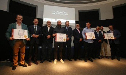 Entregats els Premis ASPA als millors Vins Alacant DOP