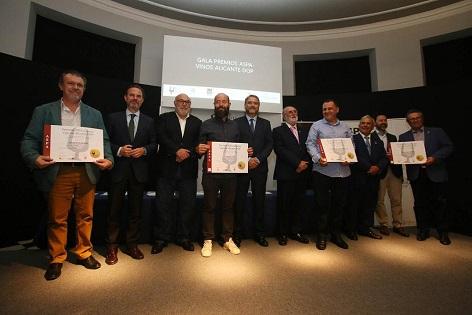 Entregados los Premios ASPA a los mejores Vinos Alicante DOP