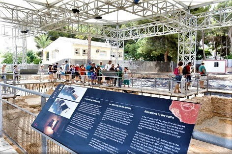 Cultura de l'Alfàs del Pi ofereix ofereix visites guiades al Museu Vila Romana de l'Albir durant el mes de juliol