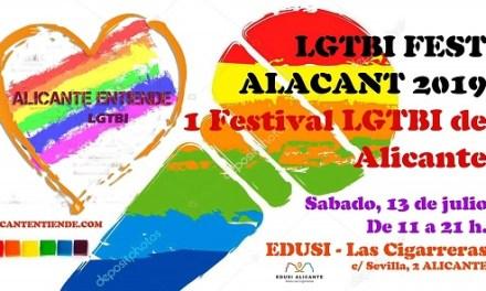 L'Orgull LGTBI alacantí estrena Festival LGTBI en Las Cigarreras