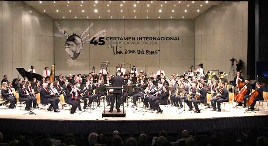 Dos bandas de Portugal y una de la Comunitat competirán en el 46 Certamen Internacional de Música Vila d'Altea