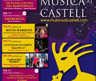 Cultura Dénia llena las noches de verano de música, cine, arte y danza