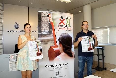 """El Claustro de San José acoge una nueva edición del Festival de Guitarra """"Ciutat d'Elx"""""""