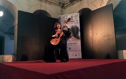 """Margarita Escarpa va delectar al públic amb un magistral concert dedicat a Chopin en el Festival de Guitarra """"Ciutat d'Elx"""""""