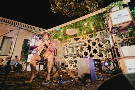 """Guitarricadelafuente va actuar el dissabte al MARQ dins del cicle """"Momentos Alhambra"""""""