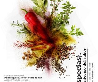 La exposición de la Universidad de Alicante «Especias: el universo del sabor» en el Auditori Teulada Moraria