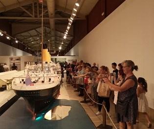 13.000 persones ha visitat l'exposició «Titanic. The Reconstruction» des de la seua inauguració a Alacant