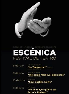 """Cinco propuestas teatrales configuran el festival """"Escénica"""""""
