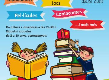 """Lectura i diversió el mes d'agost a la """"Biblioteca de Tirisiti"""" d'Alcoi"""