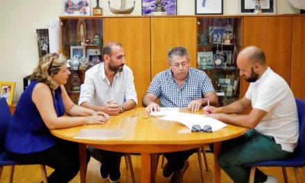 L'Ajuntament de l'Alfàs renova la seua col·laboració amb la Associació Tradicions de la Marina