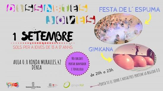 L'Ajuntament de Dénia licita el programa Dissabtes Joves