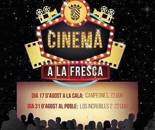 """La regidoria de cultura de Finestrat amplia la programació d'estiu amb """"Cinema a la Fresca"""""""