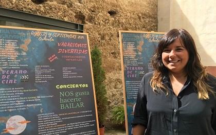 Cultura y Juventud presentan la programación para despedir el verano en Orihuela