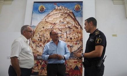 La Policia Local identifica a l'autor de les últimes pintades al Castell d'Oriola