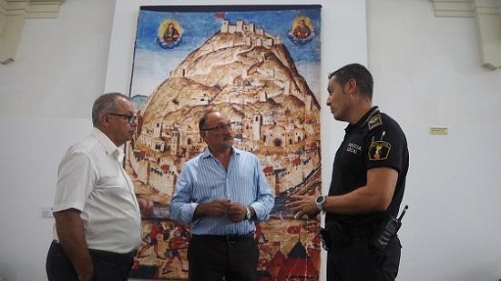 La Policía Local identifica al autor de las últimas pintadas en el Castillo de Orihuela