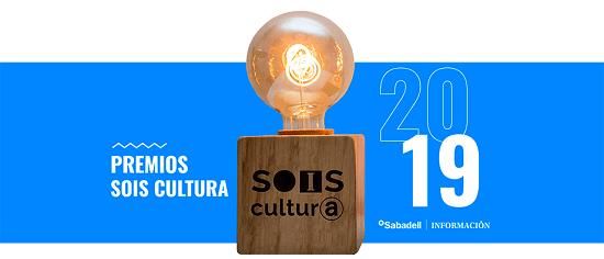 """Nuevos Premios """"Sois Cultura"""" para revitalizar a los agentes culturales de la provincia de Alicante"""