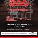 """El primer Concierto """"Benalúa Rock"""" llega el 14 de septiembre de la mano de la Asociación de Comerciantes del barrio"""