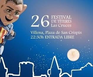 Finalitza el 26 Festival de Titelles Las Cruces de Villena