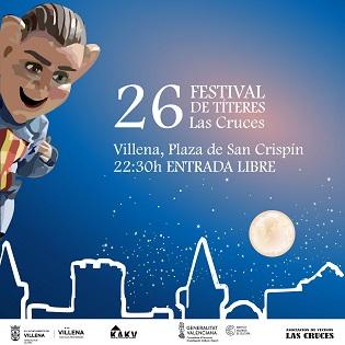 Finaliza el 26 Festival de Títeres Las Cruces de Villena