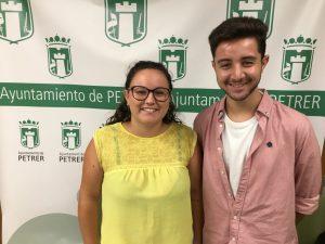 Concejales de Fiestas y Juventud, Ana Tortosa y Alejandro Ruiz,