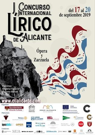 """El """"I Concurso Lírico Internacional de Alicante"""" celebra su gran final en el Teatro Principal"""