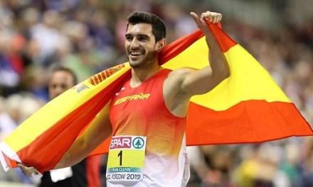 El Atleta Jorge Ureña apadrinará una nueva vendimia en la DOP Alicante