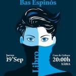 """Enrique Bas Espinós presenta este jueves en Xàbia su nueva novela """"Las Delicias"""""""