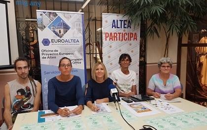 La Feria de las Alternativas ECO ALTEA tendrá lugar los días 12 y 13 de octubre en las inmediaciones de Palau Altea con temas como el Asociacionismo y Voluntariado