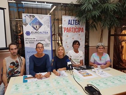 La Fira de les Alternatives ECO ALTEA tindrà lloc els dies 12 i 13 d'octubre al voltant de Palau Altea amb Associacionisme i Voluntariat