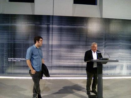 """Las Cigarreras inaugura la exposición  """"Espectrograma: Alacant» de Edu Comelles, muestra seleccionada de la IV Convocatoria Buitblanc"""