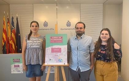 La Regidoria de Joventut presenta un curs d'Audiovisuals per a joves de 12 i 20 anys