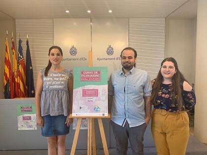 La Concejalía de Juventud presenta un curso de Audiovisuales para jóvenes de entre 12 y 20 años