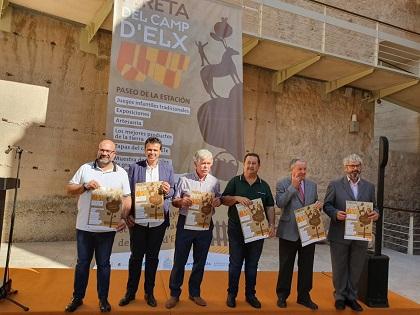 Novena edición de la Fireta del Camp d'Elx en el que  participan más de 50 expositores