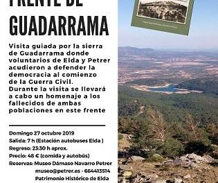 La Comisión de la Memoria Histórica homenajea a la veintena de combatientes de Elda y Petrer que murieron en el frente de Guadarrama