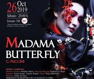Madama Butterfly, de Giacomo Puccini en el Auditori de la Mediterrània de La Nucia