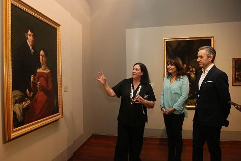 El MUBAG recupera y pone en valor la trayectoria de Vicente Rodes con una exposición inédita del retratista alicantino