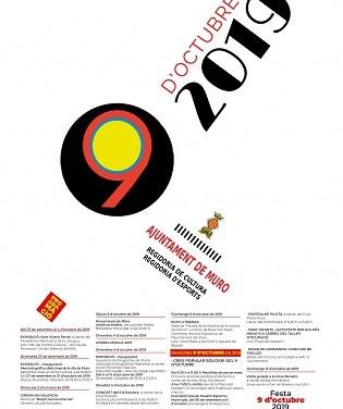 Activitats festivitat  9 d'octubre a Muro de l'Alcoi