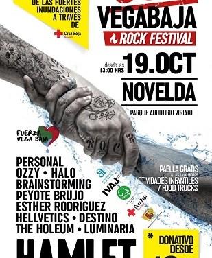 Novelda albergarà el primer SOS Vega Baja Rock Festival