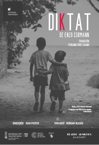 L'obra Diktat, la liquidació d'un compte pendent entre dos germans, al Teatre Arniches