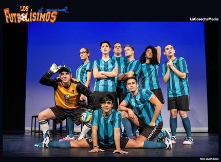 Los Futbolísimos, el Musical, llega al Teatro Chapí de Villena