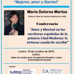 """La Universidad de Alicante celebra el """"Día de las Escritoras"""""""
