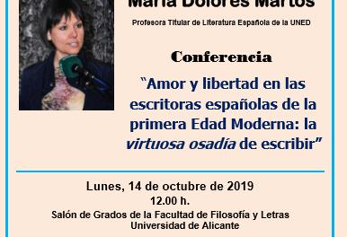 La Universitat d'Alacant celebra el «Dia de les Escriptores»