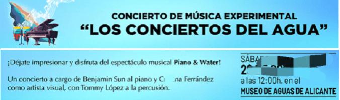 """Este domingo cita con """"Los Conciertos del Agua"""" en los Pozos de Garrigós con la participación de Benjamín Sun y Cristina Ferrández"""