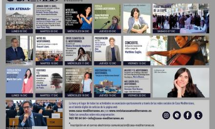 Ciencia, literatura y actualidad cierran el año en Casa Mediterráneo