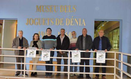 La Feria del juguete antiguo y del coleccionismo de papel en Dënia se inicia el 7 de diciembre