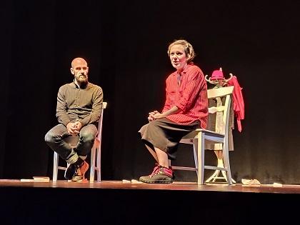 """""""Dolores Valentina"""" una oda a la coherència que va emocionar a l'auditori Pedro Vaello de El Campello"""