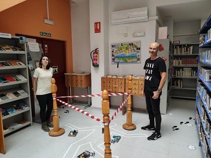 """""""Aparadores culturales"""", una iniciativa de cultura para difundir los fondos bibliográficos y audiovisuales de El Campello"""