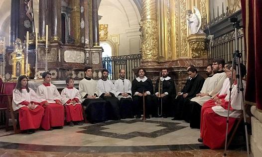 Finaliza el Festival Medieval d'Elx con la recreación de una misa de la Virgen de la Asunción del siglo XVII